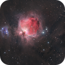 Orion Nebula / Running Man Nebula (true color),                    Chris Sullivan