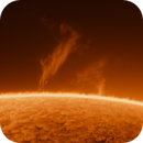 Solar prominence,                                Miroslav Kalinaj