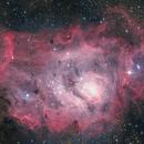 M8 - Lagoon Nebula (DSS v1),                                Martin Junius