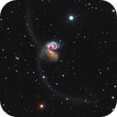 love love in distant universe,NGC4038,NGC4039,                                bawind Lin