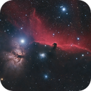 Horse Head Nebula and friends in (HaL)RGB,                                Andreas Eleftheriou