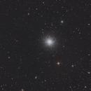 M13 - Hercules Globular Cluster,                                Darius Kopriva