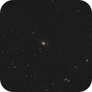 M 87 and surrounding galaxies with Hyperstar,                                Elmiko
