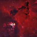 Barnard 39 Bi-Color RGB Stars,                                John Travis