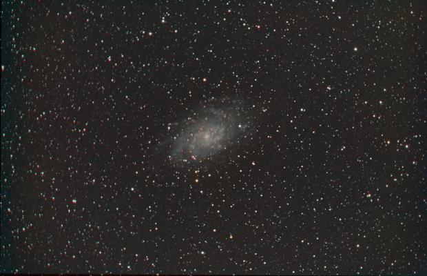 M33 in NBRGB,                                JDJ