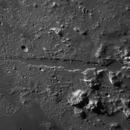 Vallis Alpes with center rille (IR-HR),                                Henning Schmidt