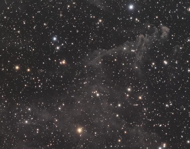 LBN 811 in Lynx Constellation L_RGB,                                MassimoTuninetti