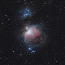Orion Nebula , Witch Head Nebula  IC2118         Widefield,                                webeve