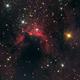 Cave Nebula Sh2-155 HaLRGB,                                Kharan