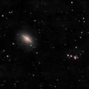 The Sombrero Galaxy (M104 in LRGB),                                David Andra