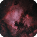 NGC 7000 - BICOLOR HA 3NM + O3 NM,                                Alberto Maria Casati