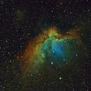 NGC7380 in HST palette,                                Gordon Haynes