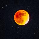 Moon eclipse 31/01/2018 and M44,                                Nikolay Vdovin