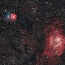 M8 & M20 LRGB Quick Shot,                                Astrovetteman
