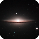 M104 - Sombrero Galaxy,                                francopanetta