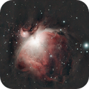 m42 of 11.12.14 with a modded 600d and an Acuter ED 90 900 - 73 120 secs unguided subs,                                Stefano Ciapetti