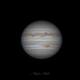 Jupiter with Great Red Spot,                    Matt