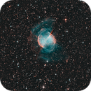 M 27: The Dumbbell Planetary Nebula Showing the Outer Halo  **REV-2**,                                Fernando