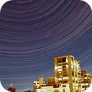 Long Duration Star Trails and Timelapse Under Full Moon,                                Dean Carr
