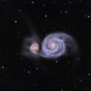 M51 Whirlpool Galaxy,                                Cheman