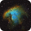 NGC281 in HST palette,                                Gordon Haynes