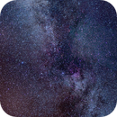 Stitched Milky Way 2015.08.20 - 2015.08.21,                                Evie