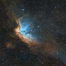 NGC 7380 - Wizard Nebula,                                Monkeybird747