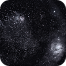 M008 Lagoon Nebula/Trifid Nebula,                                Sandra Repash
