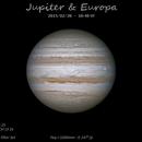 Jupiter & Europa - 2015/02/28,                                Baron