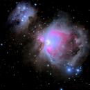 M 42 and M 43 Nebula,                                SkipRapp