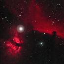 Horsehead and Flame Nebulae (2021),                                Daniel Tackley
