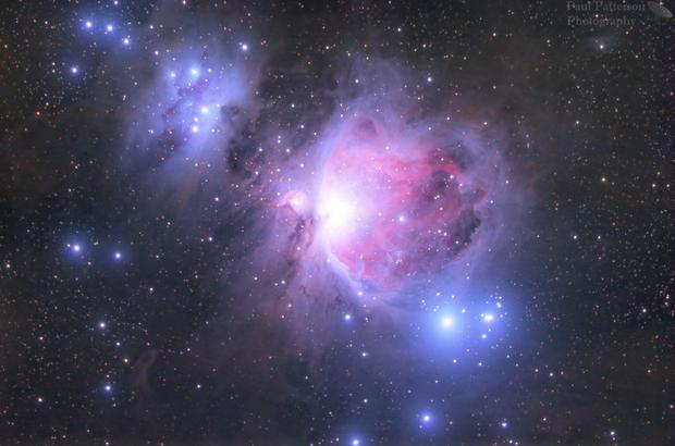 M42 Orion nebula,                                James Patterson