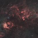 Galactic Nebula in Cygnus @ DSLR-HaGB,                                Wolfgang Zimmermann