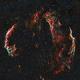 Veil Nebula Over Los Angeles,                                Alex Weinstein