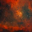 Heart nebula in dual narrowband,                                Janos Barabas