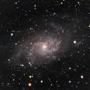M33 OOTM Cloudy Nights,                                Jason Rudduck