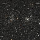 NGC 884 and NGC 869 Double Cluster,                                MRPryor