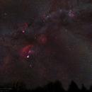 Orion & Zodiacal Light,                                David McGarvey