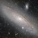 M31 Great Galaxy of Andromeda,                                Giuseppe Bertaglia