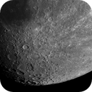 From Bullialdus to Newton - South part of a waxing gibbous moon - 77%,                                Jean-Marie MESSINA
