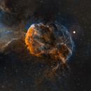 The Jellyfish Nebula - IC 443 and surrounding IC 444,                                Wissam Ayoub