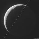 ISS Lunar Transit,                                Bruce Rohrlach