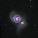 M51 HaLRGB,                                Daniel Hightower