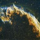 Veil in Hubble Palette,                                Roland Christen