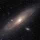 Andromeda Galaxy - M31 - DSLR,                                Thomas Richter