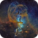 Statue of Liberty Nebula NGC3603,                                DaveMoulton