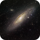 M31 - andromeda galaxy,                                upinthesky