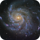 M101,The Pinwheel Galaxy!,                                Mohammad Nouroozi