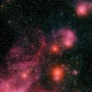 NGC3324 @ 60% cloud,                                Lenn