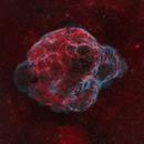 Spaghetti Nebula, Simeis 147, Sh2-240,                                Wissam Ayoub